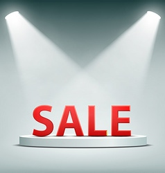 Word sale Stock vector image