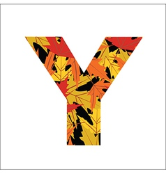 Y Letter vector