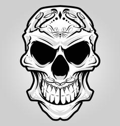 mexico skull vector image