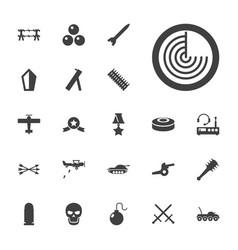 22 war icons vector