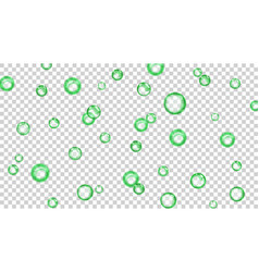 Background of bubbles vector