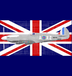 battle of britain vector image