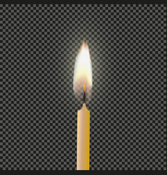 Candle flame fire light light background vector