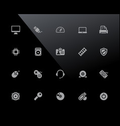 computer icons 32px series vector image