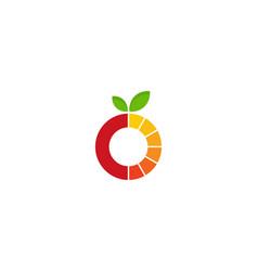 fruit logo icon design vector image