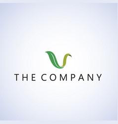 Leaf logo ideas design background vector