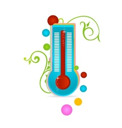 medical thermometer sign isolated vector image