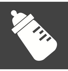 Milk Bottle II vector image