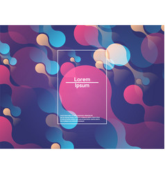 Modern style abstraction with composition made vector