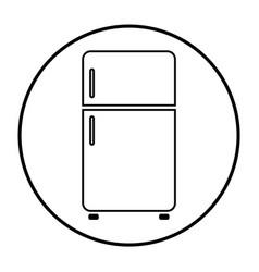 refrigerator 04 vector image