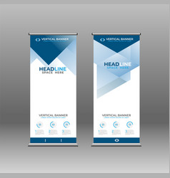 Roll up banner 08 vector