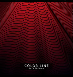 Wave stripe line background simple texture vector