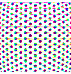 Particles glitch abstract surface background vector