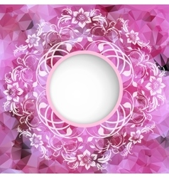 background of roses with space for inscriptions vector image