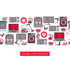 flat home appliance sale icon vector image