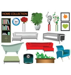 house collection vector image