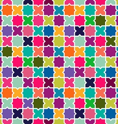 Abstract colorful mosaic pattern background vector