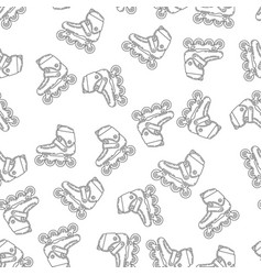Active lifestyle seamless pattern vector