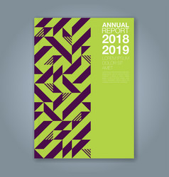 Cover annual report 1209 vector