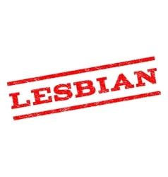 Lesbian Watermark Stamp vector