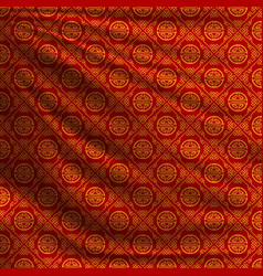 Red oriental background for cards vector