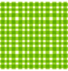Seamless pattern of hand drawn green stripes vector image