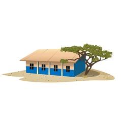 African school village vector image vector image