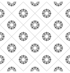 Pattern for coloring book black and white vector
