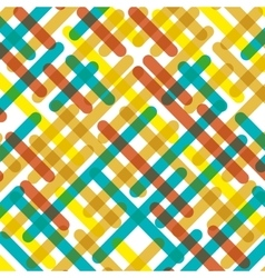 Background with colorful crossed lines vector