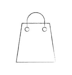 paper gift bag shopping commerce market vector image