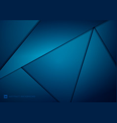 abstract geometric triangles modern technology vector image