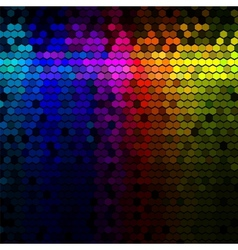 Abstract lights disco background vector
