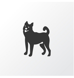Dog icon symbol premium quality isolated pussy vector