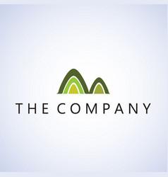 Mountain logo ideas design on vector