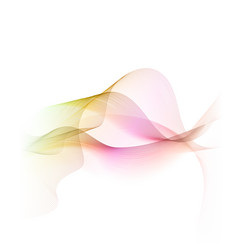Abstract flow background vector