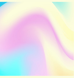 Abstract holographic backdrop 80s bright colorful vector