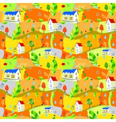 Autumn-pattern vector