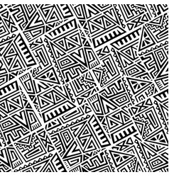 Creative seamless pattern vector