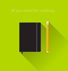 Creativity tools vector