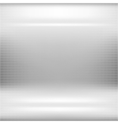 Dotted metal abstract background vector