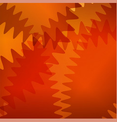 Orange futuristic background with curve lines vector