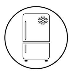 refrigerator 08 vector image