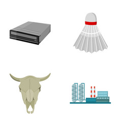 Technology history and other web icon in cartoon vector