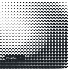 Nice abstract wavy halftone background vector