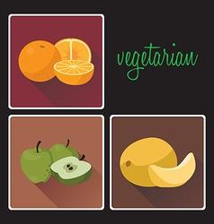 vegan3 vector image
