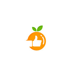 Best fruit logo icon design vector