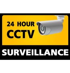 Cctv security camera vector