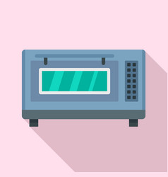 factory bakery oven icon flat style vector image