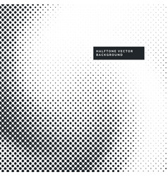 Grunge halftone dots pattern background vector