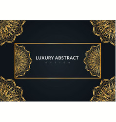 Luxury abstract background design vector